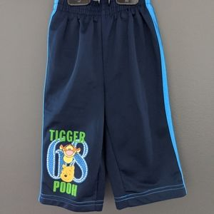 Winnie the Pooh & Tigger navy blue track pants